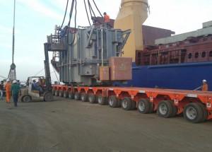 Discharging from Vessel2