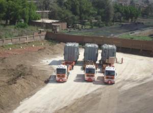 Arrived on El-Tebbin Port2