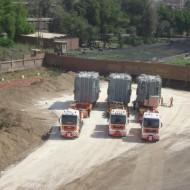 Giza North project transformers