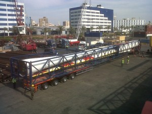 Transportation from Port to Site